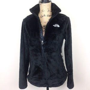 The North Face Black Plush Jacket S